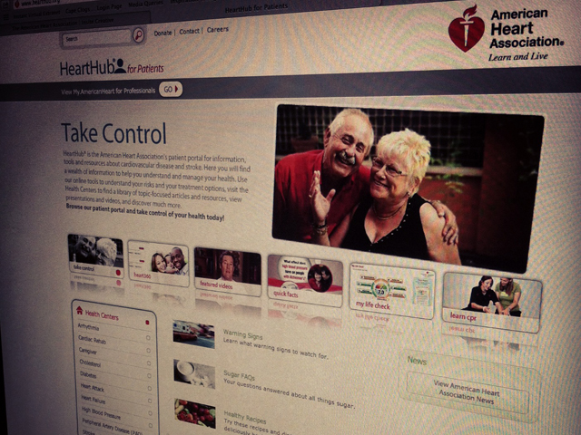 HeartHub for The American Heart Association