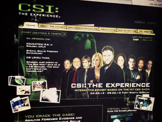 CSI: The Experience for CBS