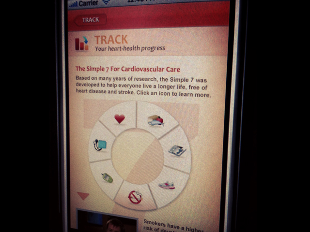 HIV and Your Heart Mobile Application